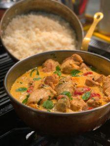 Que comer en India curry amarillo
